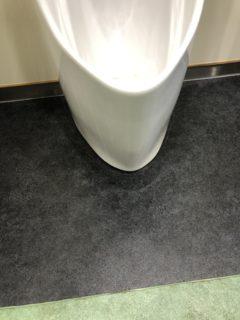 清掃作業Before→After『小便器外側』